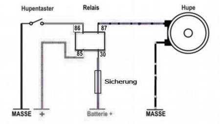 neue Hupe mit oder ohne Relais? - Elektrik - Simsonforum.de
