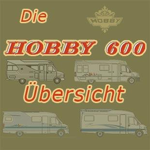 Übersicht der Hobby 600- Modelle