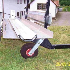 Rollerträger Montagehilfe