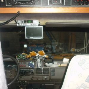 Blick ins Fahrerhaus meines Hobby 600_7
