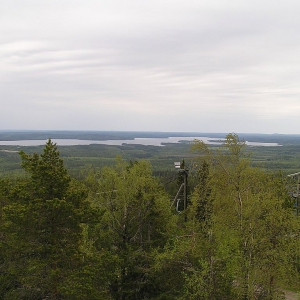 Top of the Vuokatti (64.127915,28.2725)