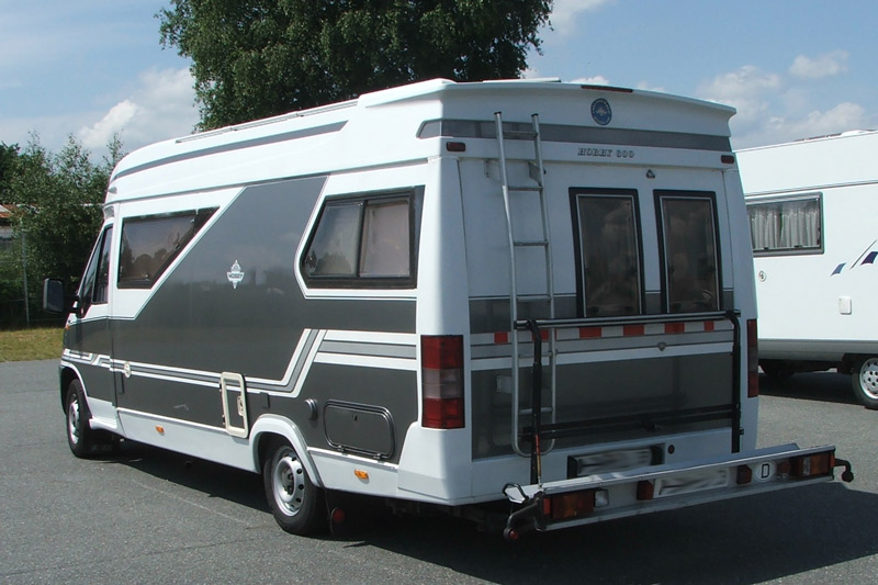 Hobby 600 ein wohnmobil ist kult der hobby 600 im for Wohnmobil aussendesign
